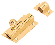 Brass Tower Bolts - Baby Latch